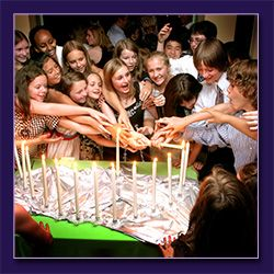 Premier entertainment custom candle lighting the thirteen candles also known as the candle lighting ceremony for many families is an important part of a barbat mitzvah celebration aloadofball Gallery